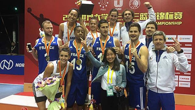 France grabs Double Gold at 3rd WUC 3x3 Basketball