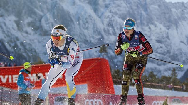 Skilanglauf: Nur Ringwald und Eisenlauer überstehen Sprint-Qualifikation