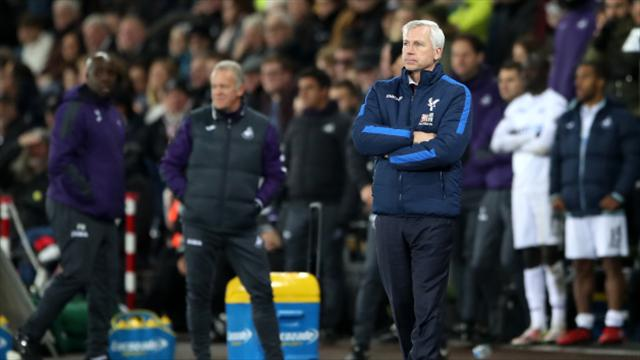 Under-pressure Crystal Palace boss Alan Pardew determined to turn around bad run