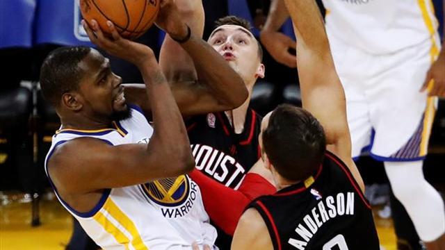 Los Rockets y los Clippers sorprenden de visitantes a los Warriors y los Cavaliers