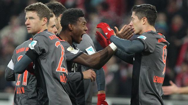 Le Bayern met la pression sur Leipzig