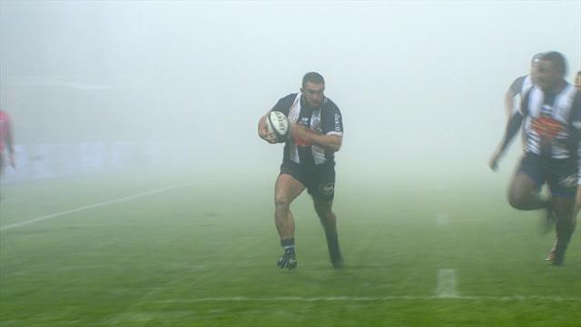 Malgré le brouillard, Agen s'est offert le bonus contre Carcassonne