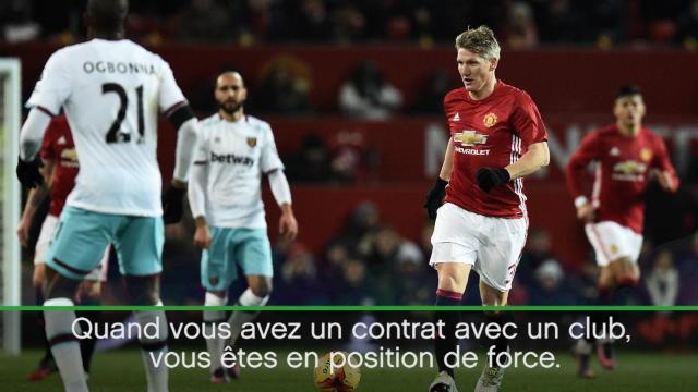 Mourinho : «Schweinsteiger est en position de force»