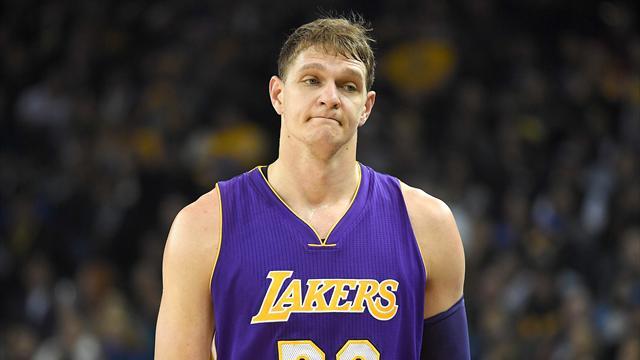 Тренер «Кливленда» вручил Мозгову чемпионский перстень НБА перед матчем с«Лейкерс»