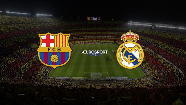 Der Clásico Barcelona - Real Madrid live im TV und im Liveticker