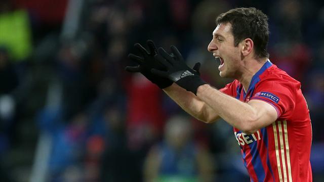 Дзагоев номинирован на звание футболиста недели в Лиге чемпионов