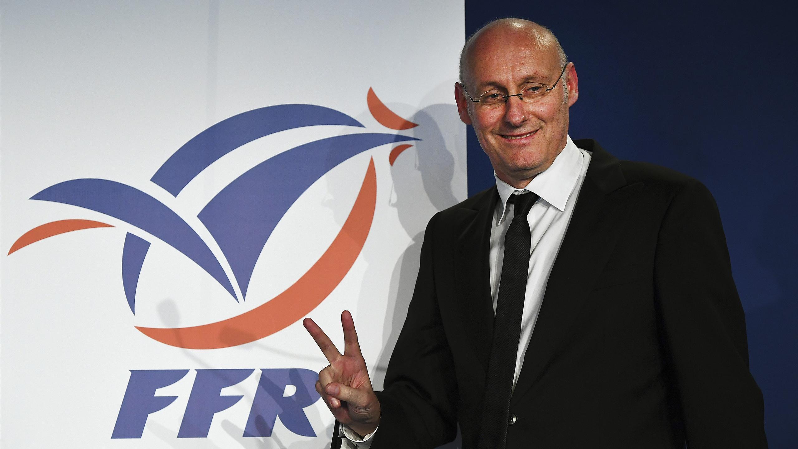 Bernard Laporte, nouveau président de la FFR