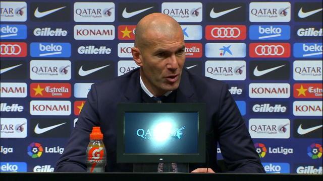 """Zidane: """"On aurait mérité de marquer les premiers"""""""