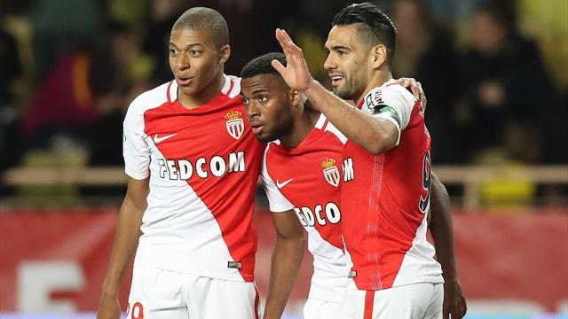 Monaco cartonne, Lille relève un peu plus la tête