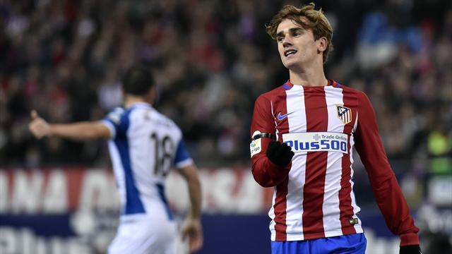 L'Atlético et Griezmann avancent au ralenti