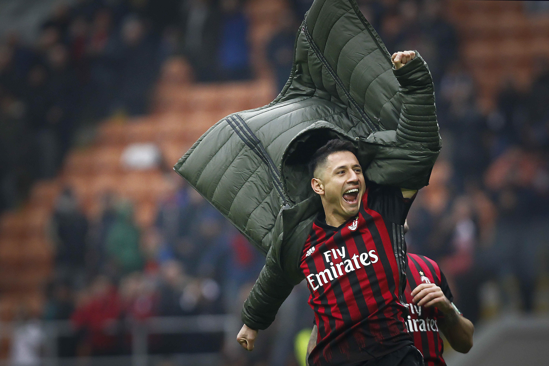 Serie A 2016/17, Milan-Crotone, Gianluca Lapadula (LaPresse)
