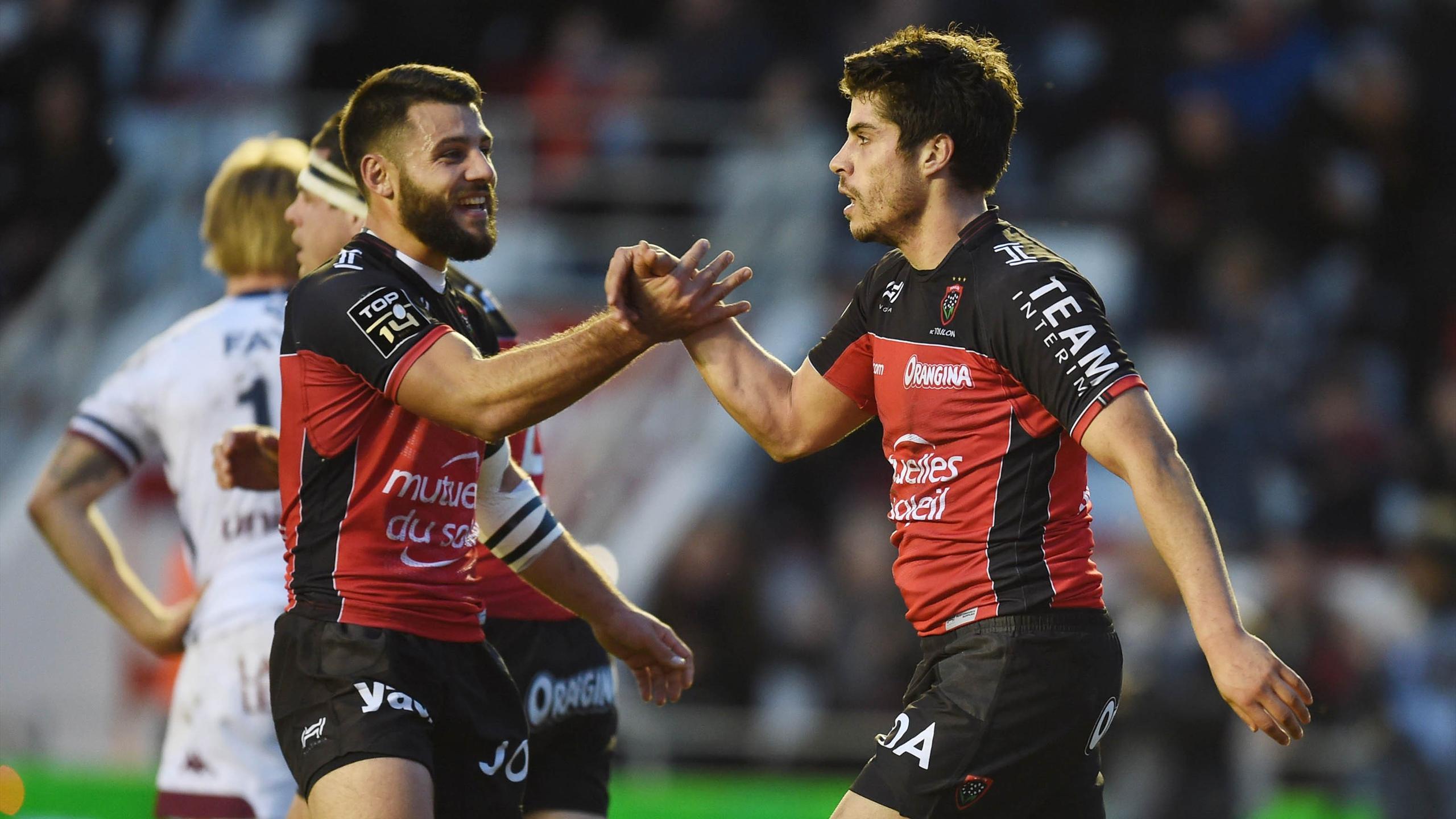 Jonathan Pélissié et Pierre Bernard (Toulon) - 4 décembre 2016