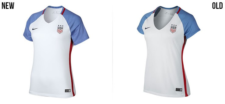 2016 USA jersey Men Women (from official website)