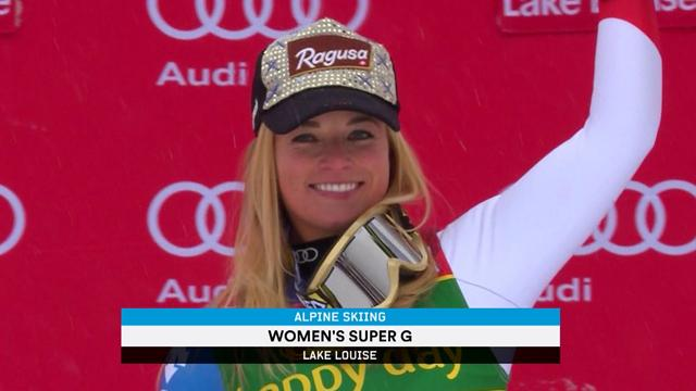 Gut battles to victory in opening super-G race of the season