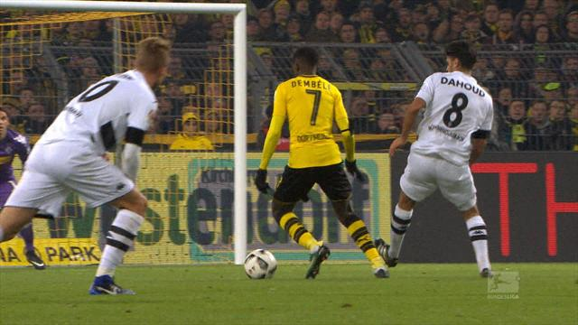 Top 5 Bundesliga goals: Dembele shows star quality for Dortmund