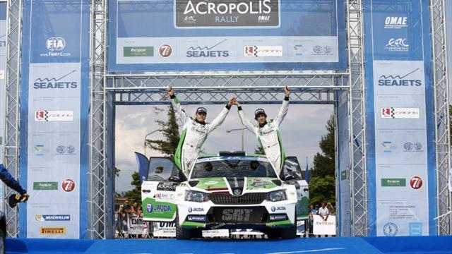 Récap de la saison : Un Sirmacis exceptionnel remporte l'Acropolis Rally ERC