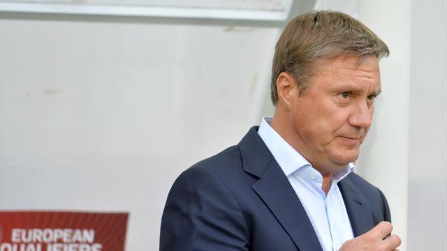 Хацкевич уволен с поста главного тренера сборной Белоруссии
