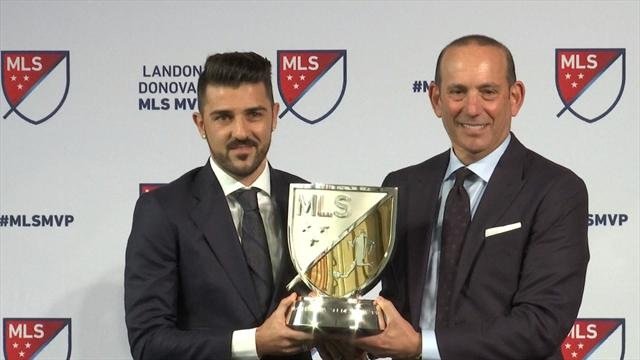 David Villa named MLS MVP in 2016