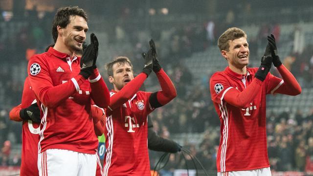 Le Bayern au sommet des gains en C1, l'OL premier club français