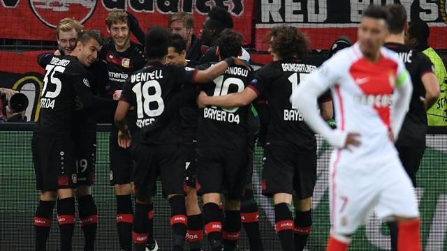 Dominé par Leverkusen, Monaco avait déjà la tête à Bordeaux