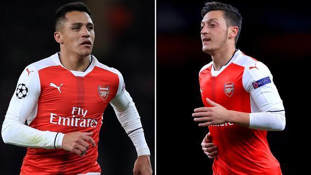 Özil und Sánchez im Visier: Bedient sich PSG doppelt bei Arsenal?