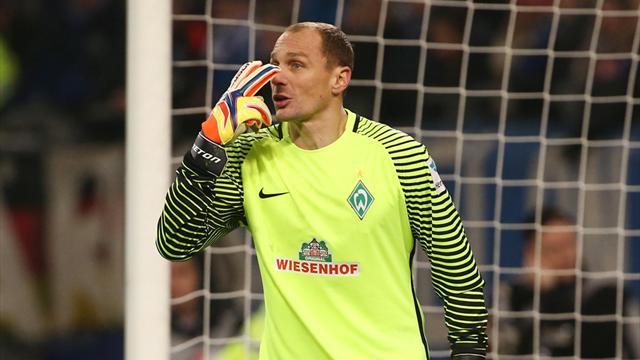 Werder-Torwart Drobny vor Wechsel nach Düsseldorf