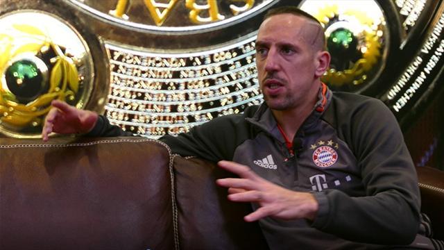 """Ribery: """"Il Bayern sarà il mio ultimo club in Europa"""""""