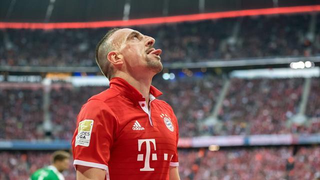 Ribéry, absent un mois et forfait contre Arsenal ?