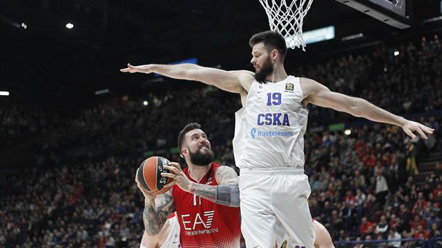 Basket, Eurolega: Milano-Cska 64-79