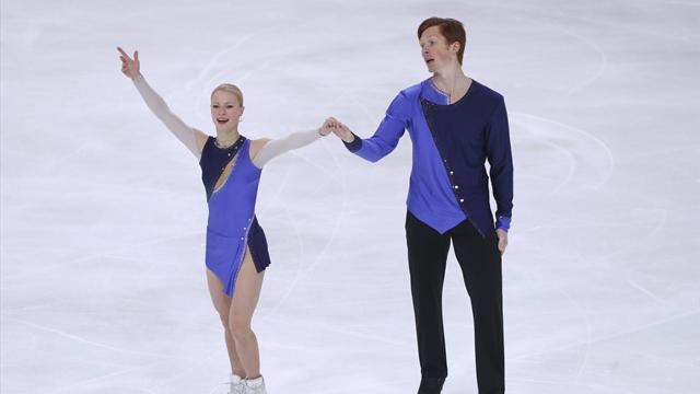 Тарасова и Морозов лидируют после короткой программы в финале Гран-при