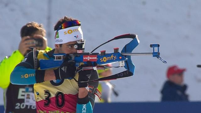 Biathlon-Highlights: Fourcade erneut nicht zu schlagen