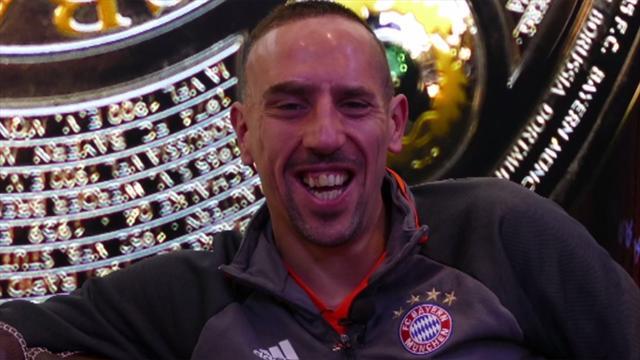 """This or That"" con Franck Ribery: chi sceglie tra Messi e Ronaldo?"