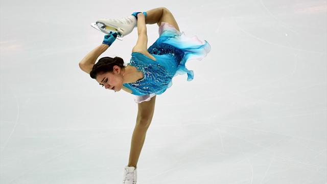 Медведева установила мировой рекорд короткой программы в Марселе