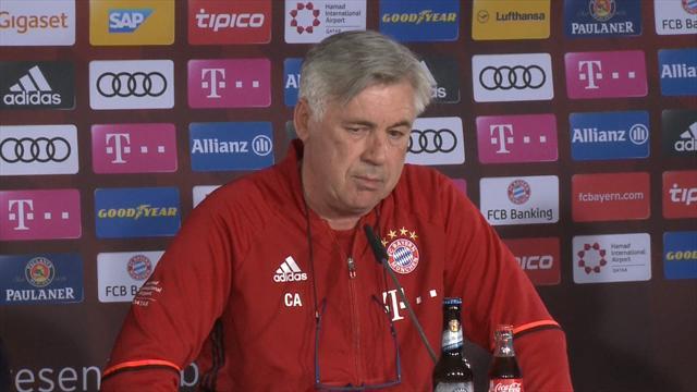 Ancelotti: It's very strange seeing Wolfsburg near bottom of table