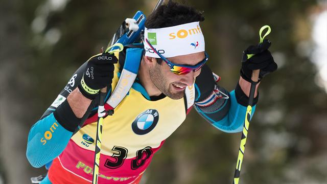 Biathlon : Martin Fourcade fait tomber Pokljuka