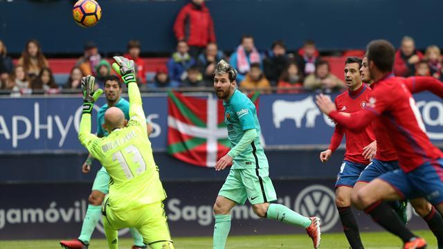 «Барселона» уверенно обыграла «Осасуну» в15-туре чемпионата Испании