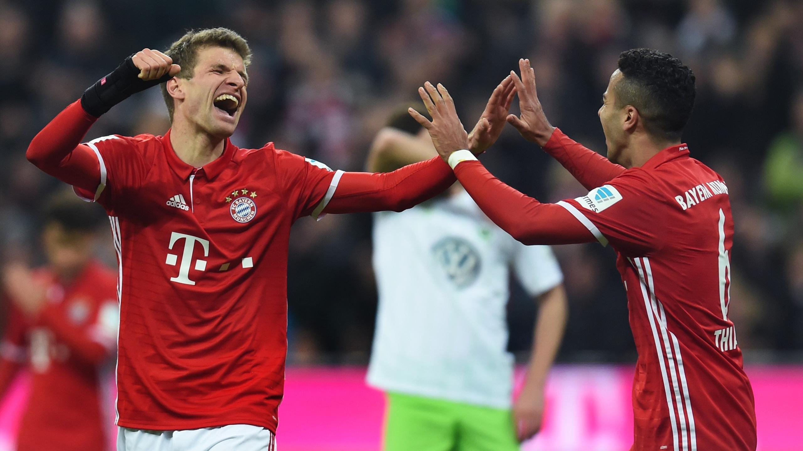 Thomas Müller (Bayern Munich) a enfin marqué en Bundesliga contre Wolfsbourg
