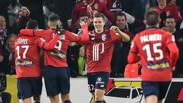 Lille remporte un troisième succès de suite, Bastia renoue avec la victoire