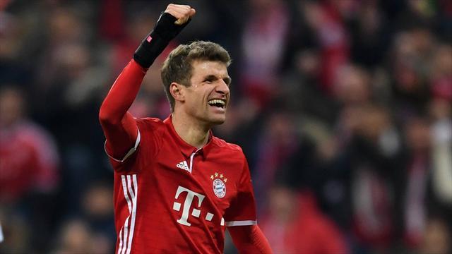 Второй гол Мюллера в сезоне принес «Баварии» победу над «Гладбахом»