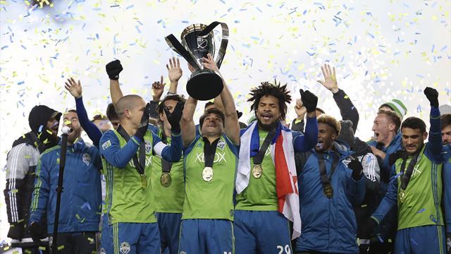 «Сиэтл» впервый раз вистории стал облатадетем Кубка MLS