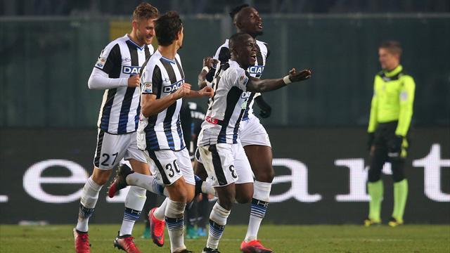 Le pagelle di Atalanta-Udinese 1-3