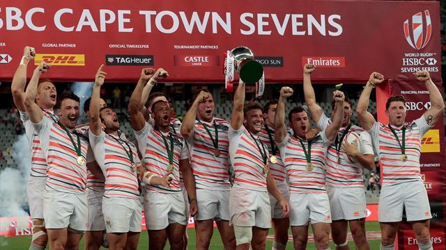 L'Angleterre remporte l'étape du Cap en battant l'Afrique du Sud en finale