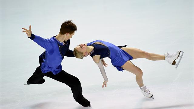 Тарасова и Морозов лидируют после короткой программы на чемпионате Европы