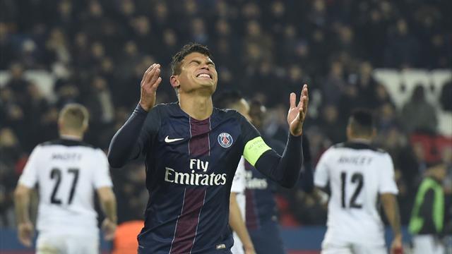 Énorme coup dur pour Paris : Thiago Silva ne sera pas là