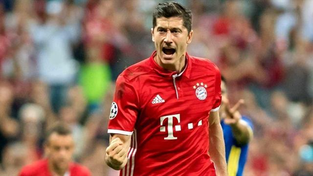 «Бавария» забила восемь мячей «Гамбургу» в1000-м матче Анчелотти