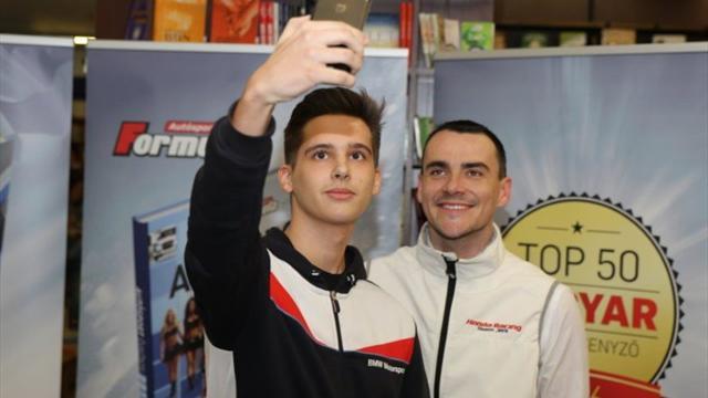 L'as du WTCC Michelisz élu pilote Hongrois de l'année