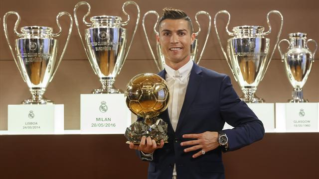 Ronaldo received twice as many Ballon d'Or votes as Messi