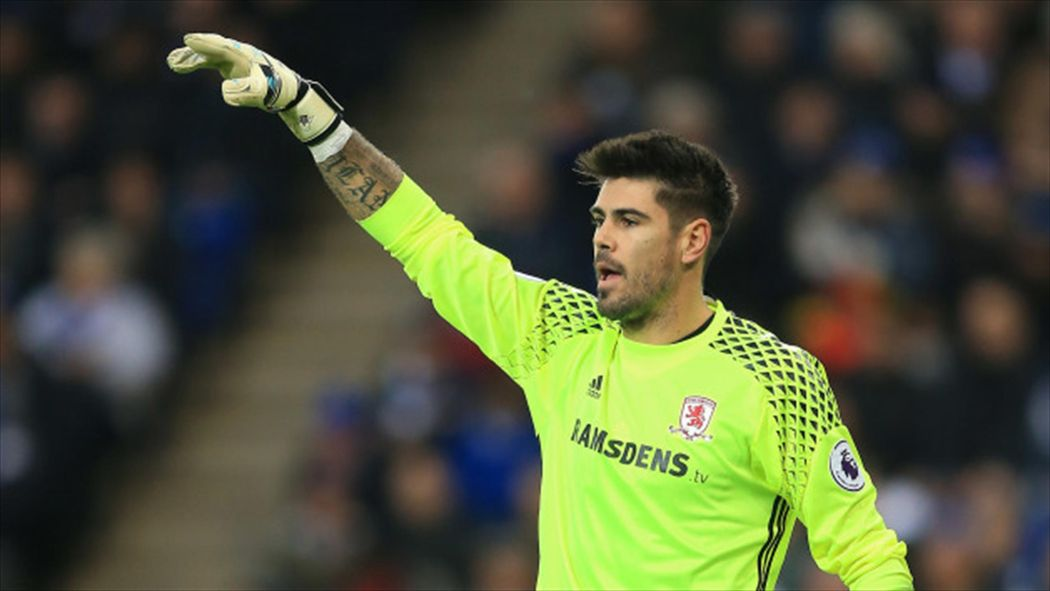 Middlesbrough manager Aitor Karanka pleased Victor Valdes