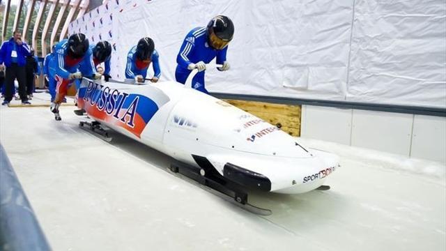 У России забрали чемпионат мира по бобслею