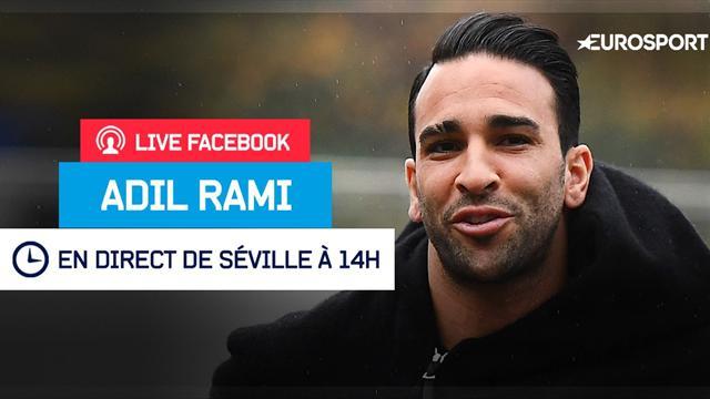 Rendez-vous jeudi à 14h pour notre Facebook Live avec Adil Rami